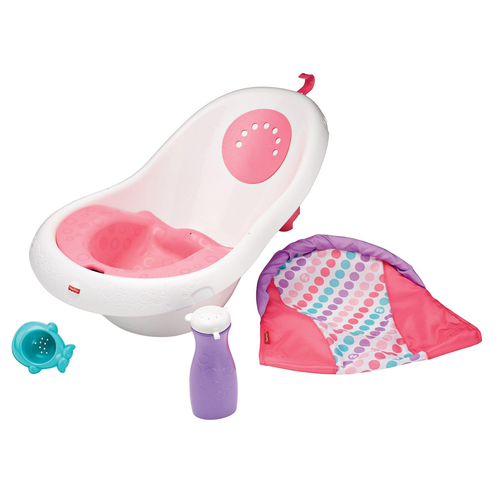 FisherPrice Bath Tub, White Baby tub, Baby car seats