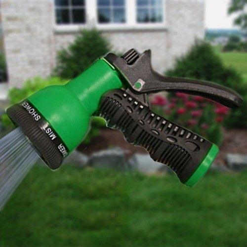 Aquaplumb 597 Lawn And Garden Hose Nozzle Water Sprayer 8 Spray Patterns Greydock Com Hose Nozzle Garden Hose Lawn And Garden