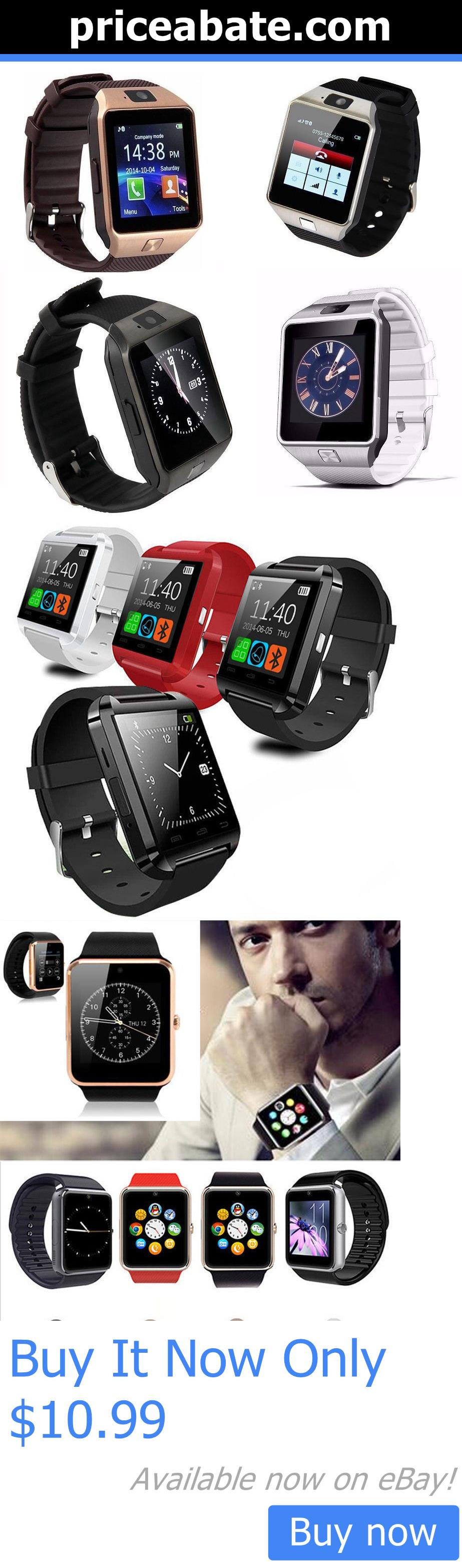 Smart Watches: Dz09 U-8Bluetooth Smart Wrist Watch Phone Mate For Android Ios Samsung Iphone Lg BUY IT NOW ONLY: $10.99 #priceabateSmartWatches OR #priceabate