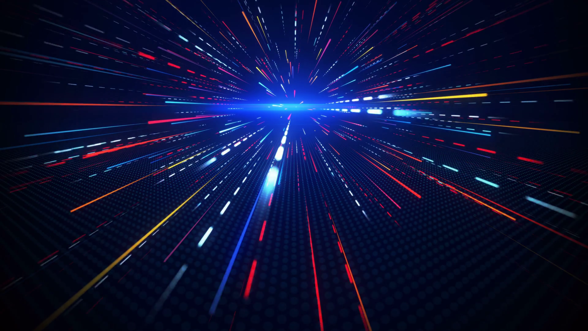 Motion blurred rays abstract loopable background 4k