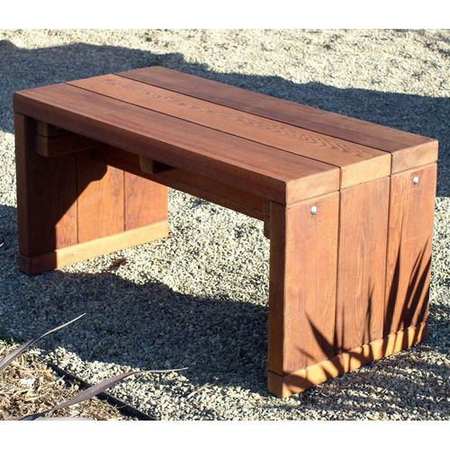 Redwood Outdoor Backless Maynards Bench | Outdoor Projects ...