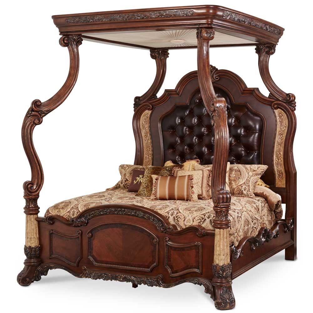 Hathaway California King Canopy Bed California king