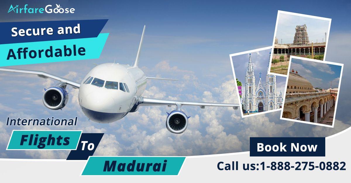 Plan your #Madurai holiday!! Book cheap international flights to Madurai at an affordable price and save big!  For more information, call us at -1-888-275-0882 (Toll-Free). Or, Click the link in bio @airfare_goose.  #travelmadurai #InternationalFlightDeals #CheapFlightBooking #OnlineFlightBooking #TraveltoIndia  #VisitMadurai #Airfaregoose