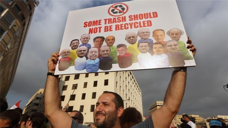 Cabinet members storm out of Lebanon trash-crisis talks - Al Jazeera English