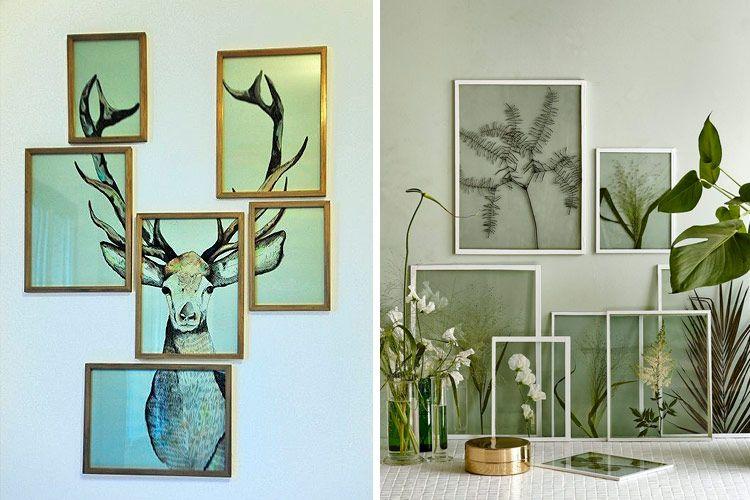 ideas para decorar con murales art sticos diy at home pinterest murales decorar paredes y. Black Bedroom Furniture Sets. Home Design Ideas