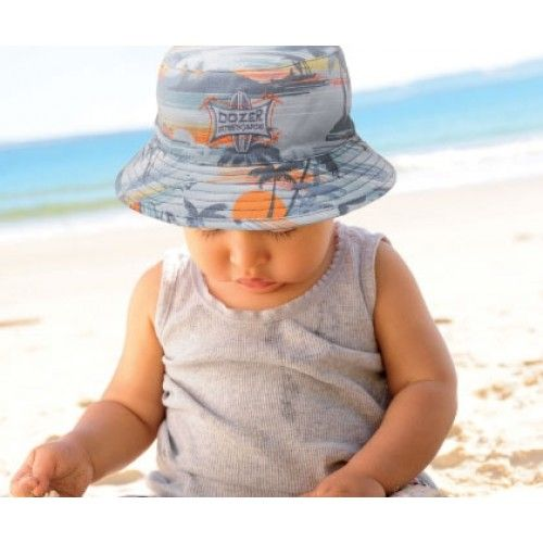 Dozer Baby Boys Hawaiian Bucket Hat  ba14a9bb667