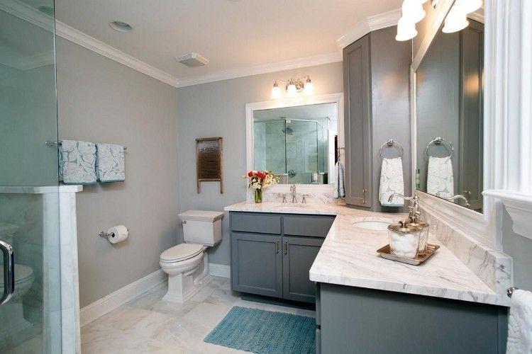 Salle de bain moderne découvrez nos nouvelles idées sans tarder! - Salle De Bain Moderne Grise