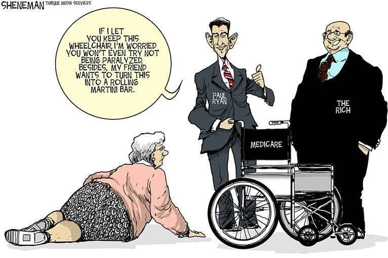 Corrupt Repukkkes kicking Seniors, Disabled +Veterans to the curb... Greed of the Rich Repukkkes at Taxpaying citizens expense.