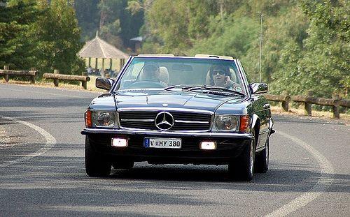 #Mercedes Benz SL 380