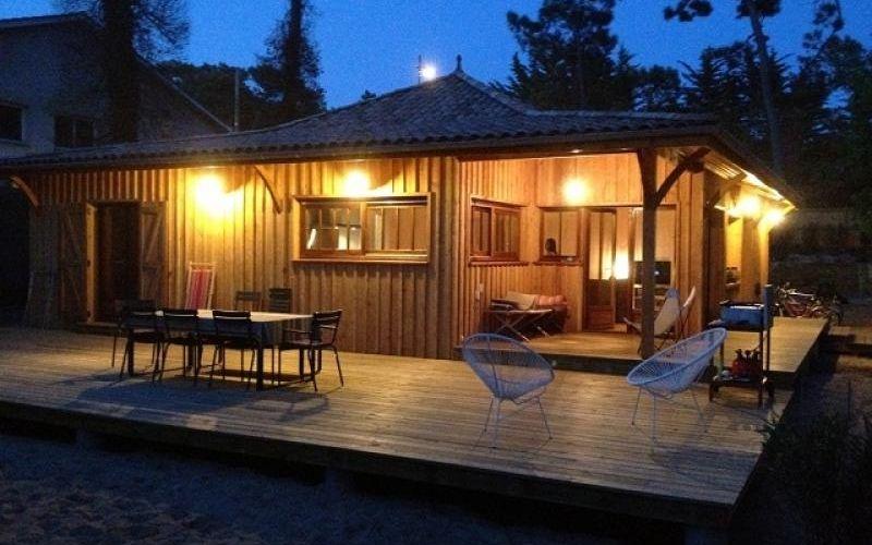 Une sublime maison en bois au Cap ferret pour vos vacances, c\u0027est ce - location maison cap ferret avec piscine