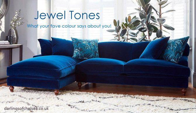 Jewel Tones Modern Victorian