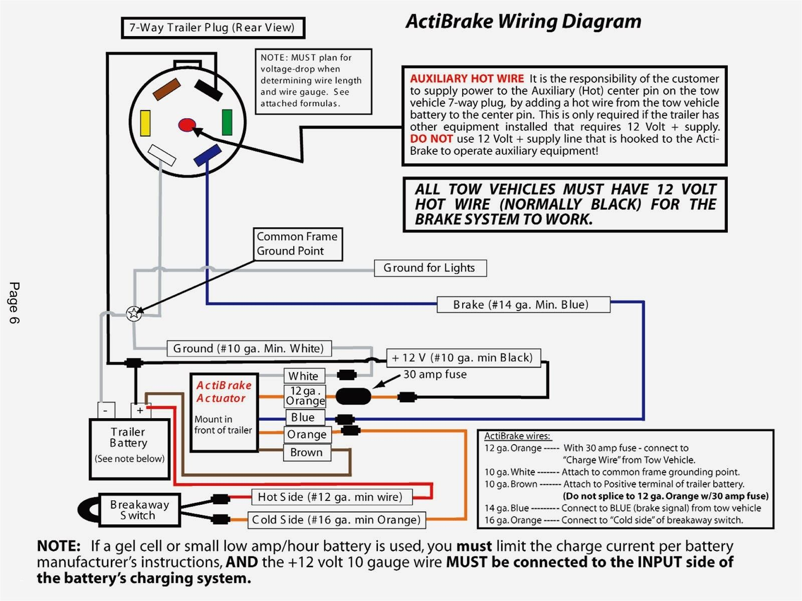 40 Trailer Brake Controller Wiring Diagram New Jersey In 2021 Trailer Wiring Diagram Diagram Trailer Light Wiring