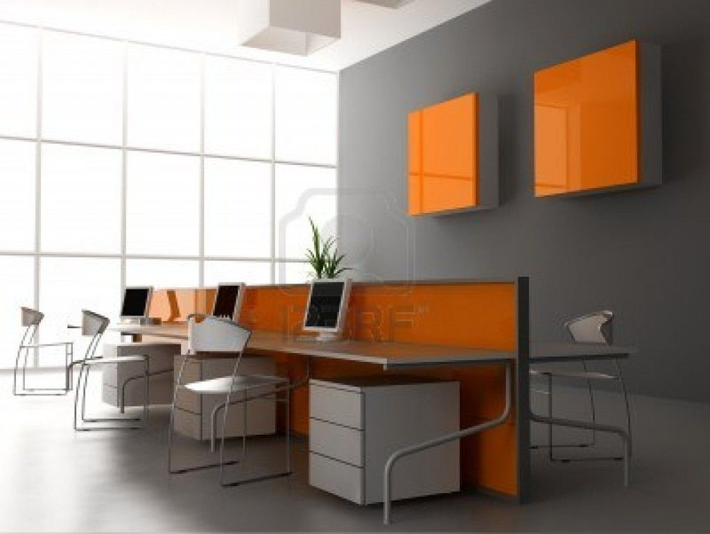 Decoration Modern Office Design 1 Get the Best Office Look with