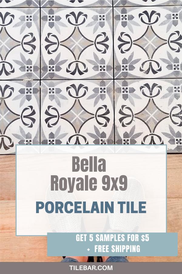 9x9 Room Design: Bella Royale 9x9 Porcelain Tile In 2020