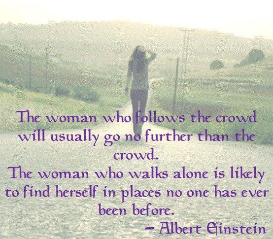 Walking Alone Quotes. QuotesGram