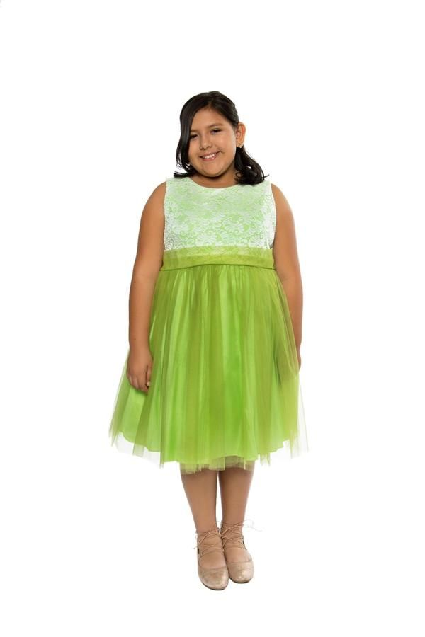 Plus Size Stretch Lace Girl Dress | Girl\'s Plus Sizes Shop ...
