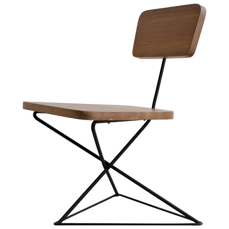Luther Conover Iron Lounge Chair