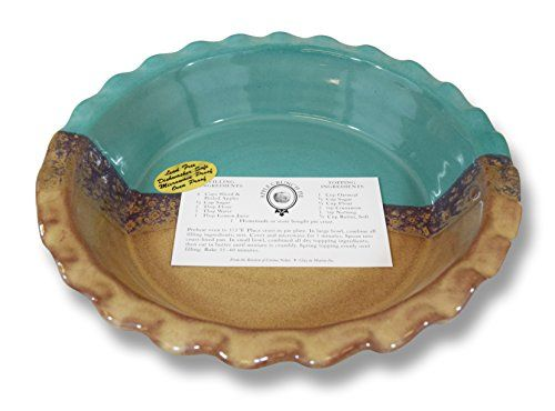 Clay In Motion Handmade Ceramic Deep Dish 9 Pie Plate Island Oasis -- Learn more  sc 1 st  Pinterest & Clay In Motion Handmade Ceramic Deep Dish 9 Pie Plate Island Oasis ...