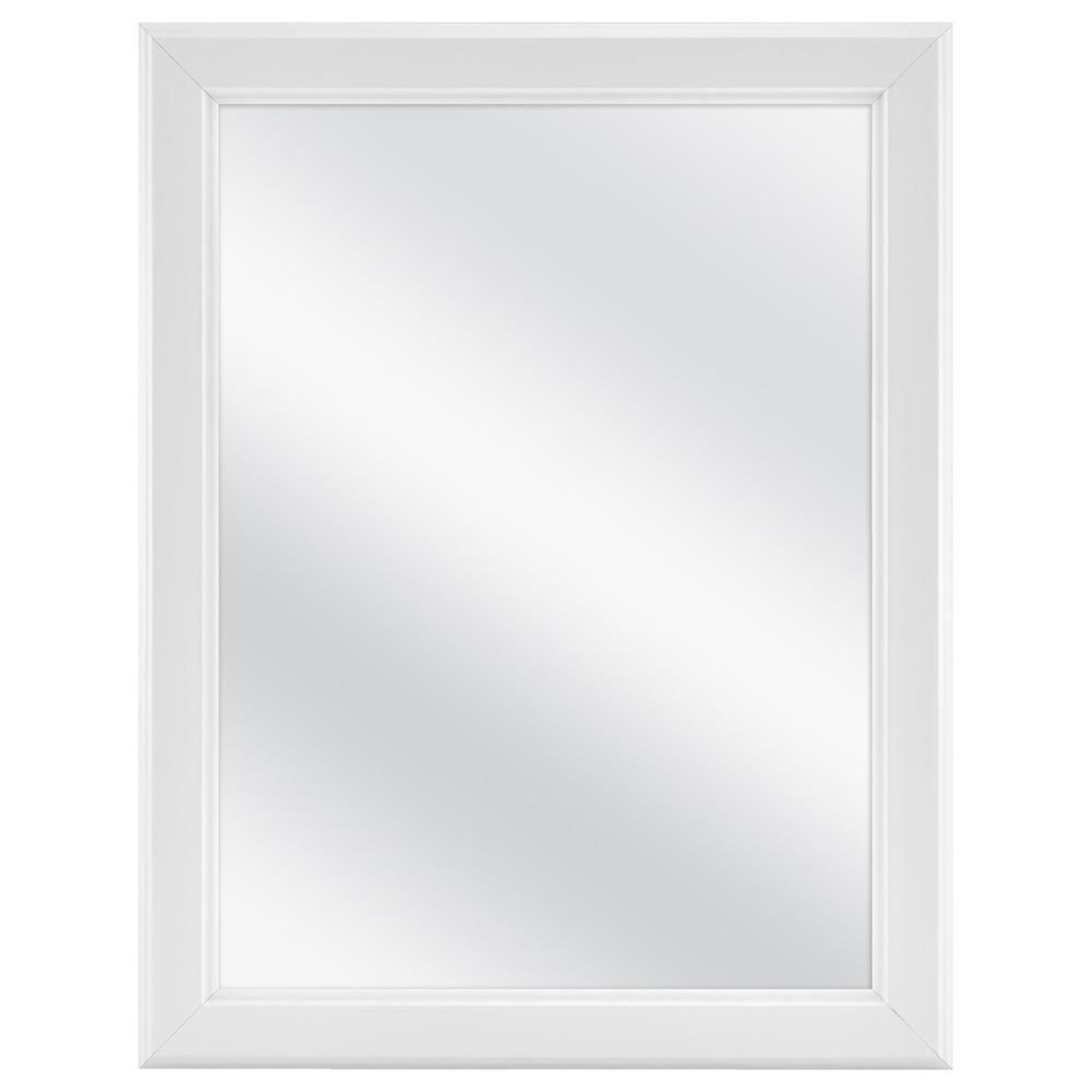 Glacier Bay 15 1 8 In W X 19 1 4 In H Framed Recessed Or Surface Mount Bathroom Medicine Cabinet In White 45389 The Home Depot Medicine Cabinet Mirror Bathroom Medicine Cabinet Glacier Bay