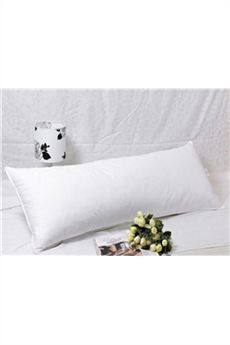 White Satin Pillow Bolster para una pareja