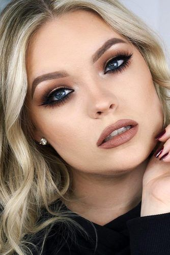 Photo of 30 wedding makeup ideas for blue eyes – new site
