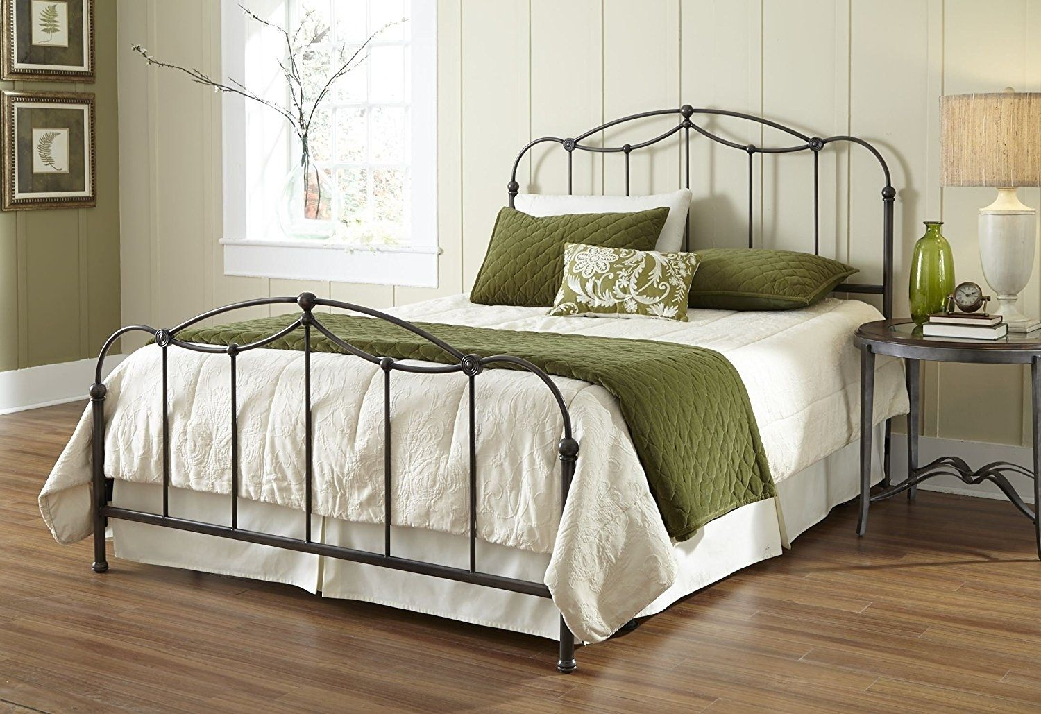 Buying Guide To California King Beds Wrought Iron Beds Bed Furniture Steel Bed Frame