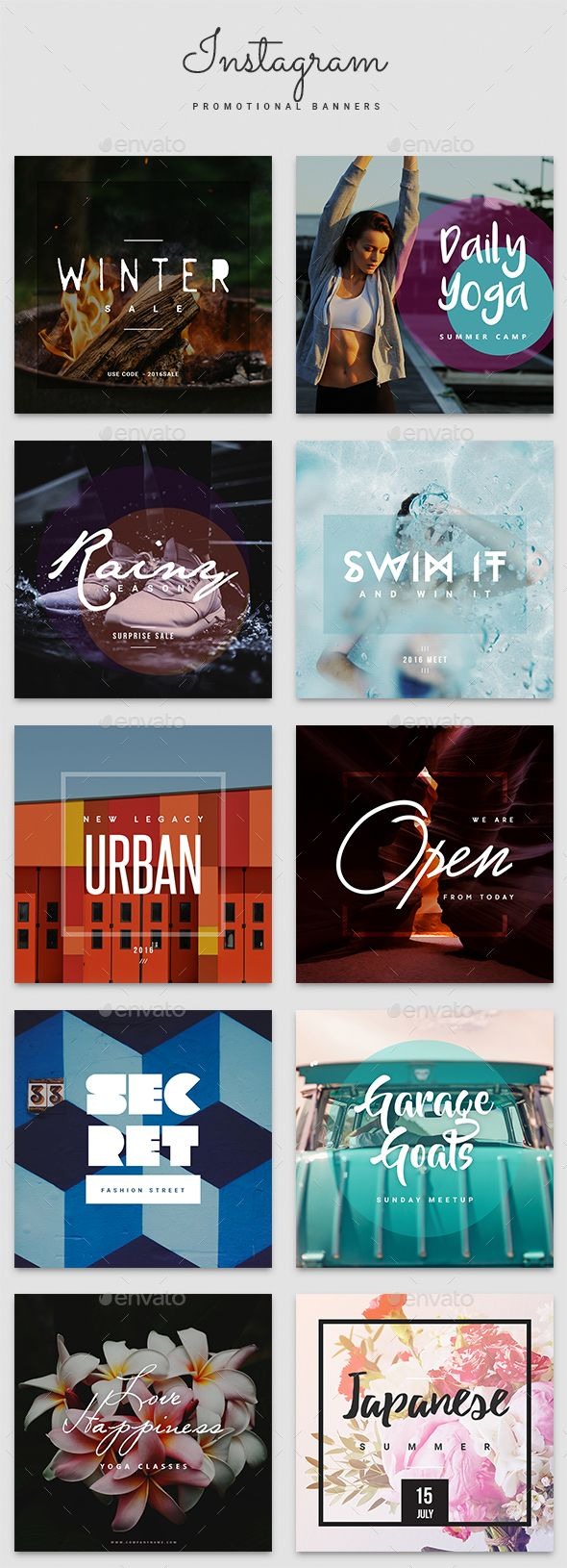 instagram promotional banner templates ad design design instagram promotional banner ads design templates banners ads web elements instagram banner template psd