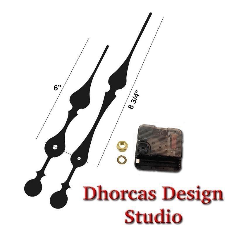 01 Quartz Clock Movement Kit 1 4 Quot Threaded High Torque