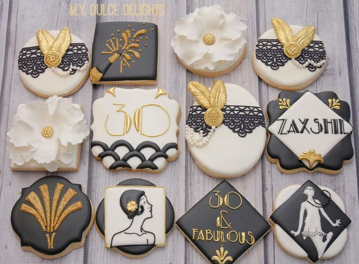 Gatsby Theme 30th Birthday Cookie Connection Birthday