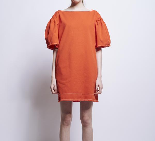 3e23e520ebf Karen Walker   Function Dress Scarlet Denim