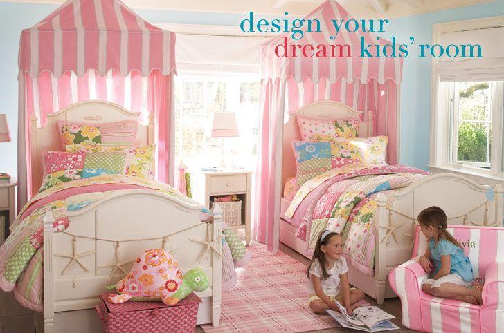 dreamy little girl room