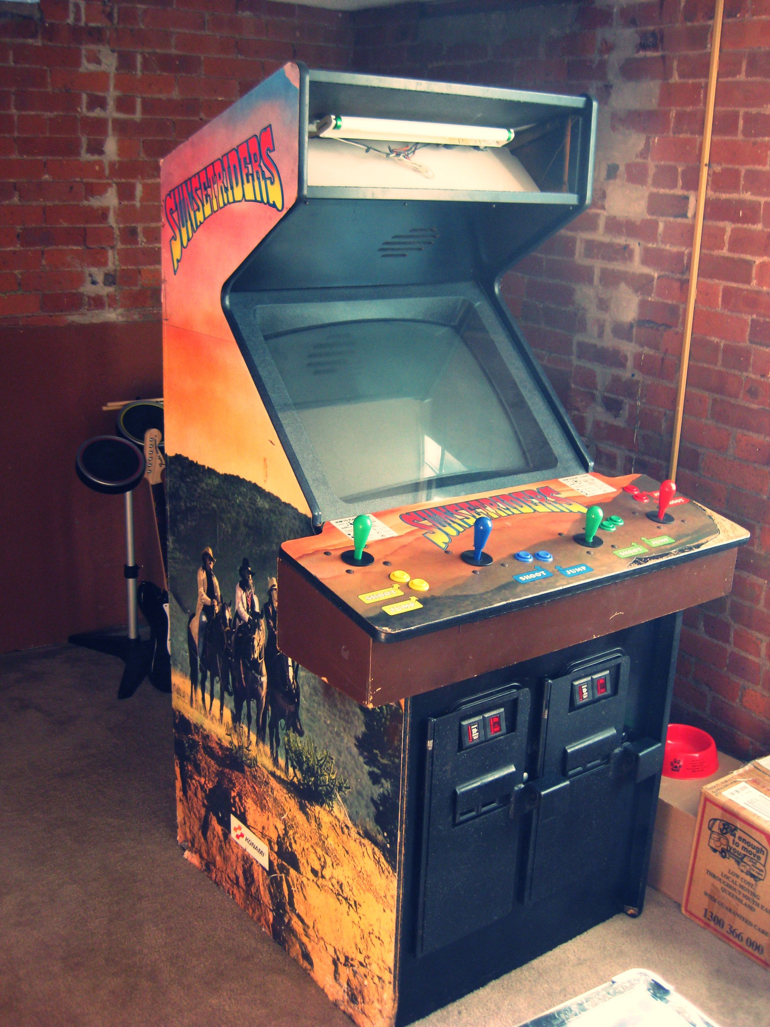 The Sunset Riders Arcade 1991 Wow Has A Very Old
