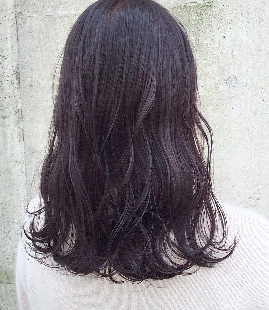 嶋山豪 On Instagram ブリーチをしない ラベンダーアッシュ 赤みが