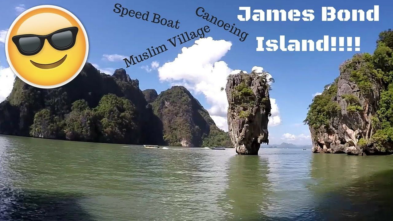 Phuket Geheimtipps Phuket James Bond Island Tour Canoeing Muslim Village
