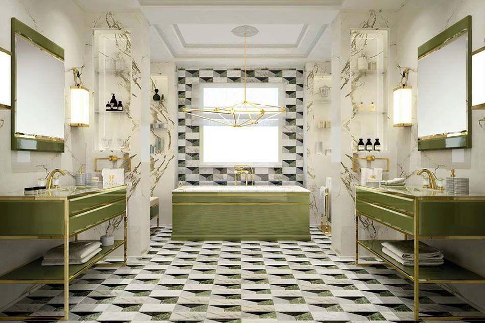 Best Salle De Bain Retro Moderne Images - Amazing House Design ...