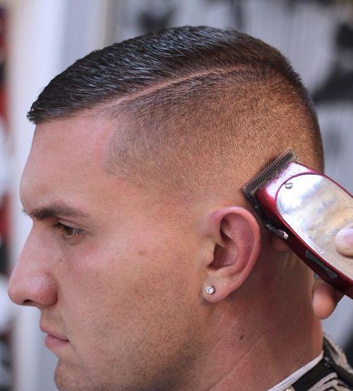 Haircut.            Short high and tight beginning of an undercut