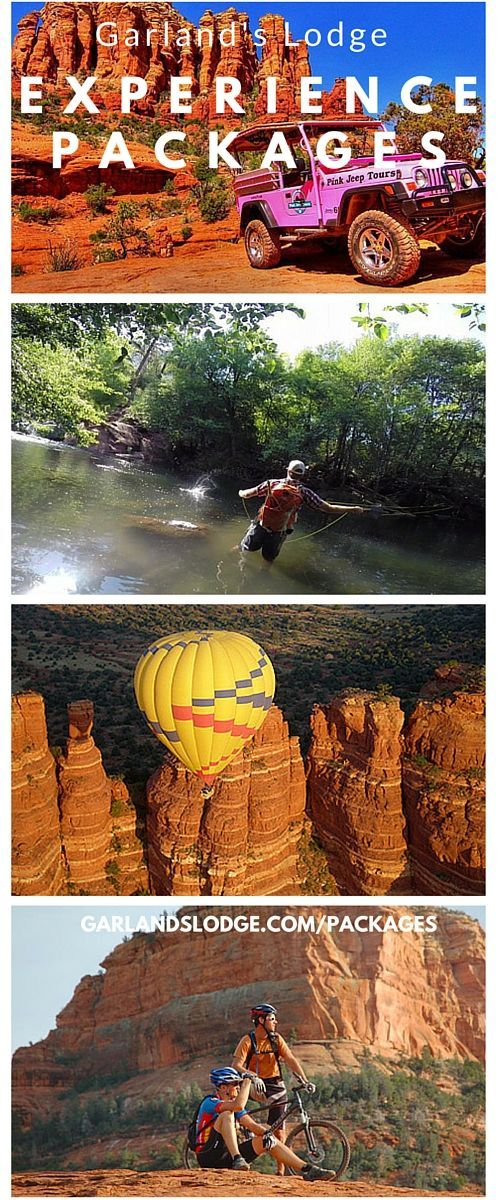 Experience the best of Sedona with Garland's Lodge
