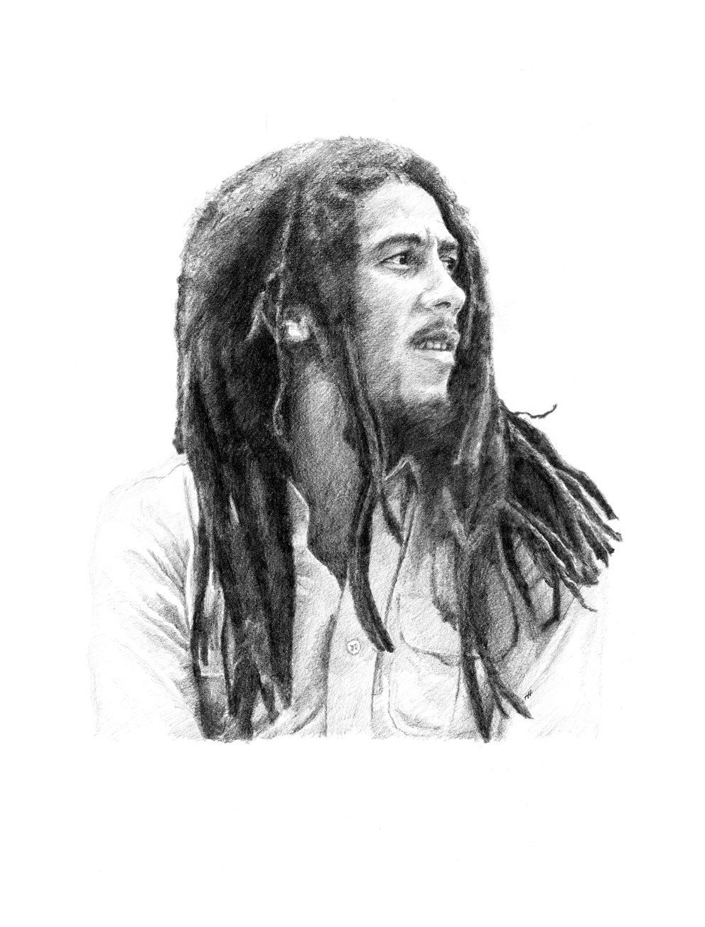 Bob marley pencil drawing in 2019 bob marley pencil drawings