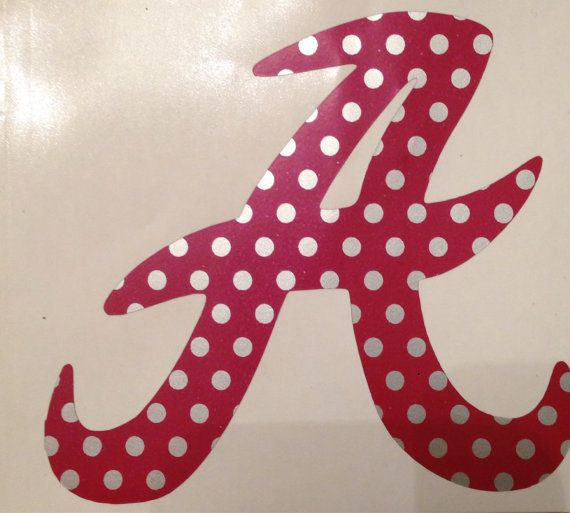 Hey, I found this really awesome Etsy listing at https://www.etsy.com/listing/207058130/university-of-alabama-car-decal