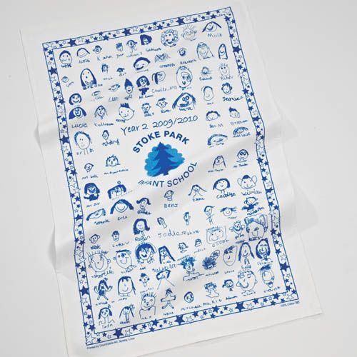 Tea Towels Printed For Schools: Tea Towel, Printed, Tea Towels, School, Fundraising
