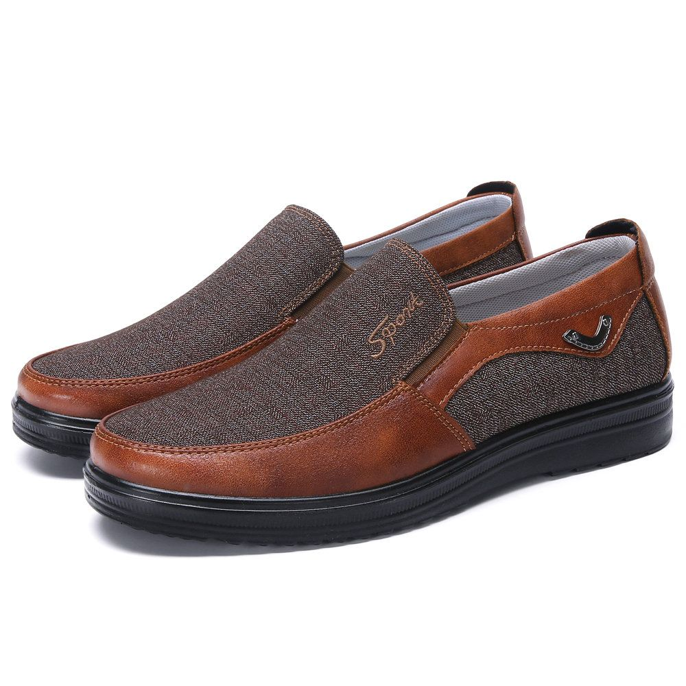 889cee39c86e7 Men Microfiber Leather Non Slip Large Size Soft Sole Casual Driving Shoes -  NewChic Mobile