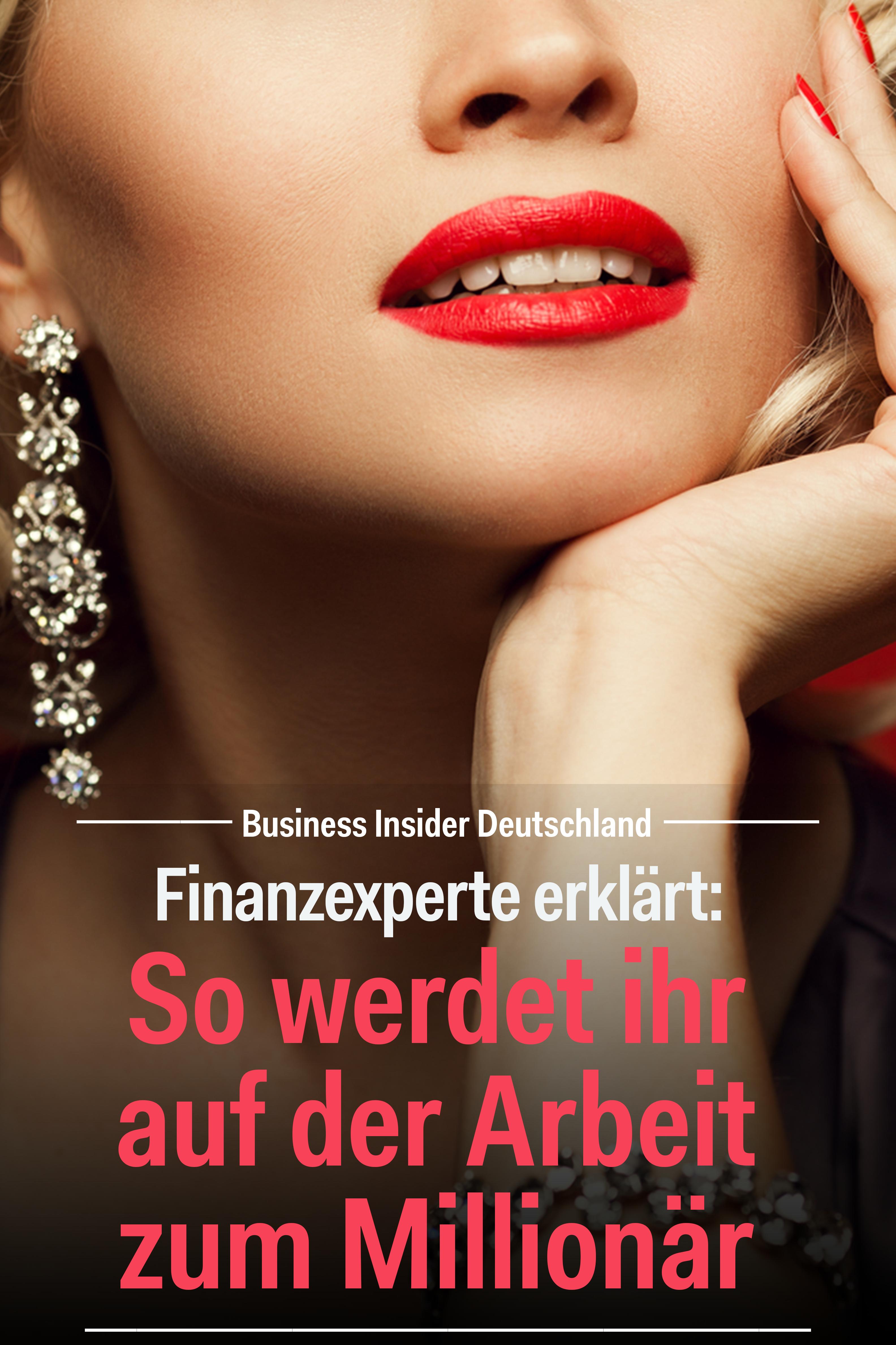 Finanzexperte erklärt: So werdet ihr auf der Arbeit zum ...