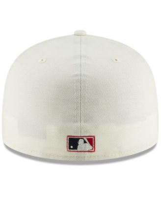 detailed look 2764b 4fe33 New Era St. Louis Cardinals Vintage World Series Patch 59FIFTY Cap - White  7 1