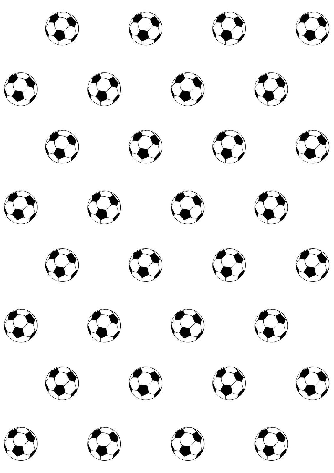 Free Digital Soccer Scrapbooking Paper