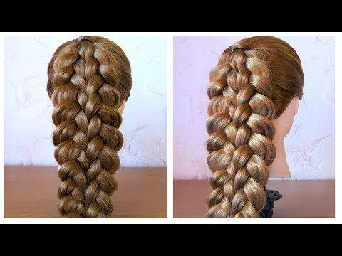 5 Peinados Faciles Y Rapidos Y Bonitos Con Trenzas (P2) Peinado