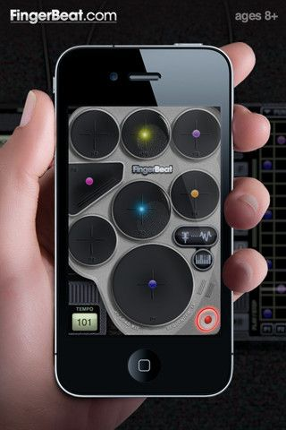 FINGERBEAT. Wellconceived and intuitive beatmaking app