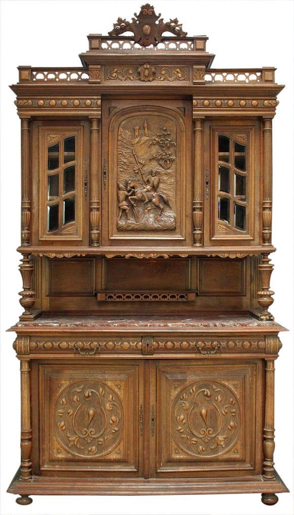 Buffet Renaissance Mobilier De Salon Meubles Victoriens Meuble De Style