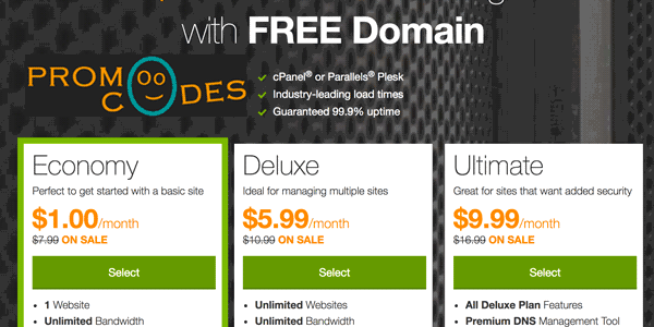 Addy One Dollar Web Hosting Package Is Of The Most Shared Available In Market
