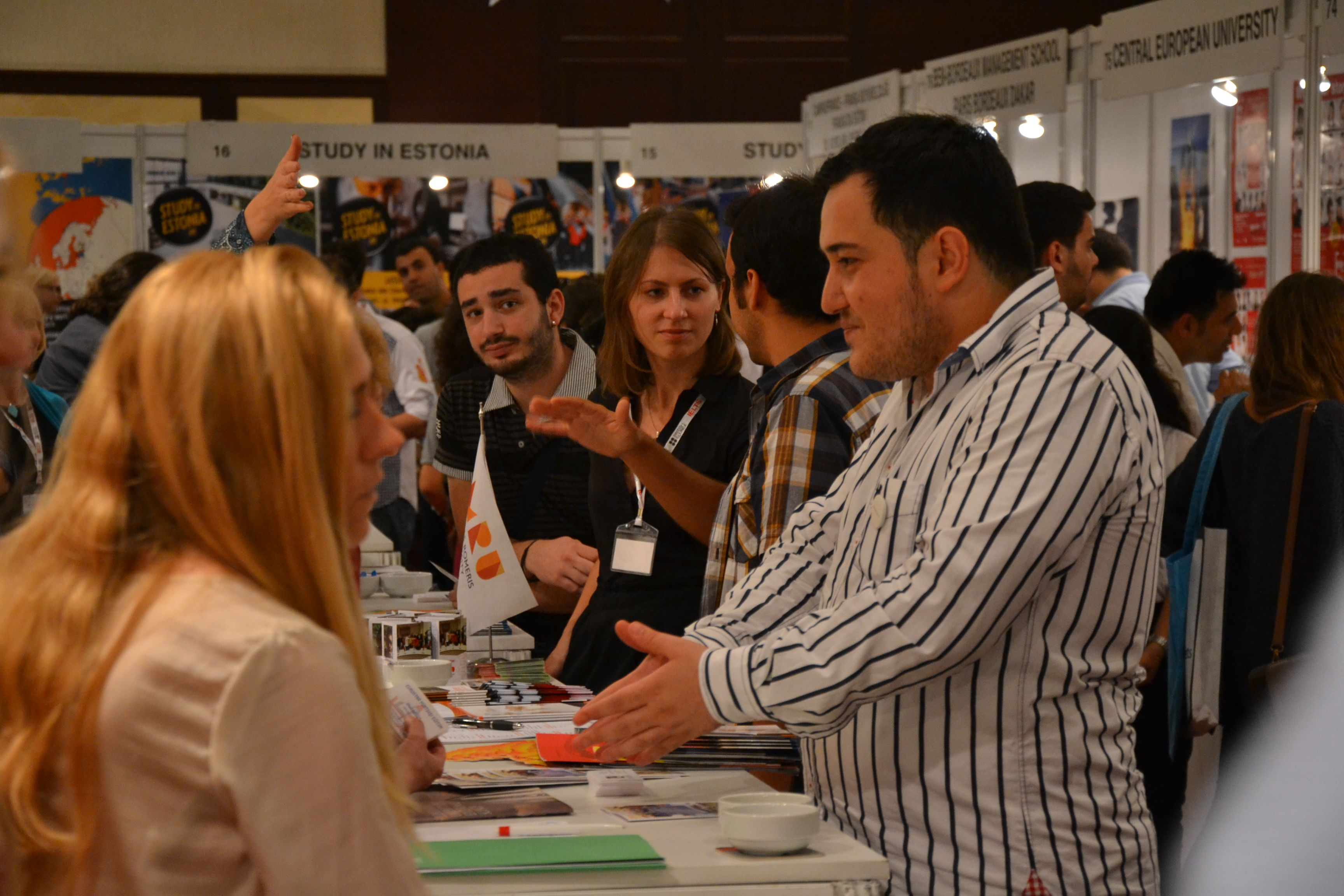 Study In Lithuania During The 22nd International Education Fairs Of Turkey Istanbul October 2012 Photo B Education Fair International Education Education