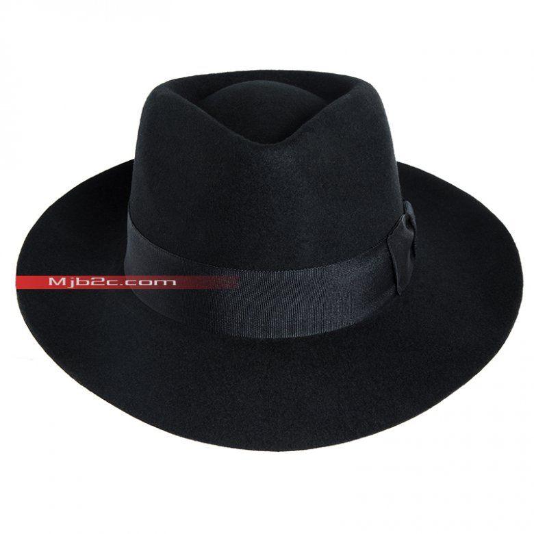 c07de54bd13 Michael Jackson Costume - Michael Jackson Hat - Black